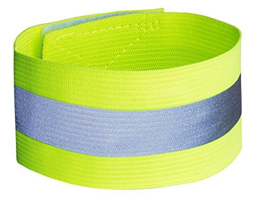 Xunits Reflektorband für mehr Sicherheit im Straßenverkehr reflektierendes Reflexband - Hosen-Gummi-Band für Fahrradfahren, als Leucht-Armband zum Joggen / Laufen oder Outdoor