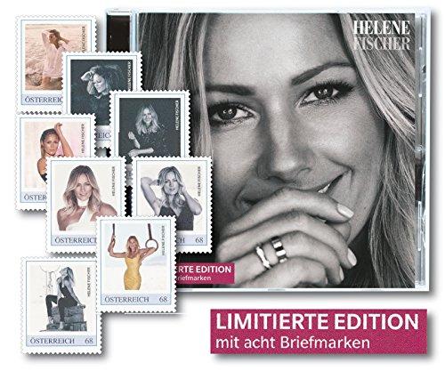 Österreichische Post Helene Fischer   limitierte Edition   CD mit acht spektakuläre Briefmarken Sängerin   Porträtfotos  deutsche Schlagersängerin