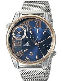 Joshua & Sons Reloj con movimiento cuarzo japonés  Rosado 45 mm