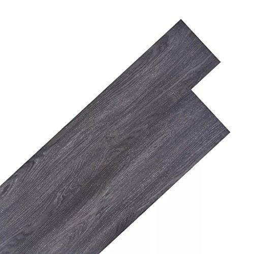 Festnight 18 Stk. PVC Laminat Dielen 5,26 M² Rutschfest PVC Bodenbelag  Fußbodenbelag Für Küche, Bad, Flur Und Wohnzimmer