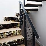 XXBFDT Escaliers Autocollants Halloween Autocollants stéréo Simulation 3D Amovible Autocollants muraux imperméables Chambre à Coucher Salon Bricolage Papier Peint-A6