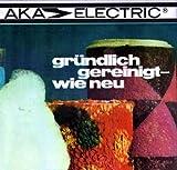 AKA Staubsauger Programm Teppichschaumreiniger Electric DDR Werbeposter