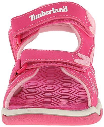 Timberland Adventure Seeker, Sandales mixte enfant Rose (Pink)