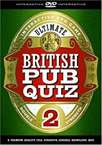The Ultimate British Pub Quiz 2 - Interactive DVD Game [Interactive DVD]