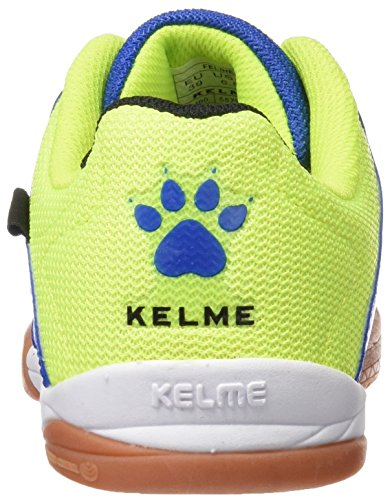 Kelme Feline 3.0, Scarpe da Calcetto Uomo Multicolore (Lima / Azul)