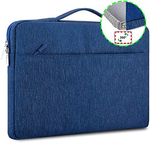 HSEOK 156 Pollici Borsa portatile Custodia Protettiva Borsa da Lavoro per MacBook Pro 15 Pollici Ventiquattrore Laptop/Caso Protettiva sottile per
