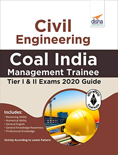 Civil Engineering Coal India Management Trainee Tier I & II Exam 2020 Guide