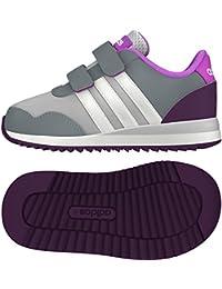 adidas V Jog Cmf Inf, Zapatos de Primeros Pasos para Bebés