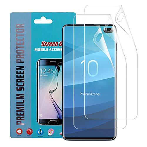 3-pack Screen Protector (Qoosea Displayschutzfolie für Galaxy S10 Plus (2 Stück) gehärtete Volldeckung, 2.5D Schutzfolie, klar, Displayschutzfolie für Galaxy S10 Plus, Galaxy s10 Plus 3 Pack Screen Protector)