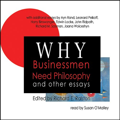Why Businessmen Need Philosophy and Other Essays  Audiolibri
