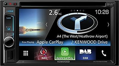 Kenwood DNX5160DABS receptor multimedia para coche - Radio para coche (AAC, FLAC, MP3, WAV, WMA, AM, DAB, DAB+, FM, LW, MW, 32 bit, 87,5 - 108 MHz, 800 x 480 Pixeles, LCD)