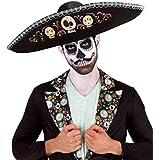 Disfraz Adulto - Sombrero Mexicano Días de los Muertos