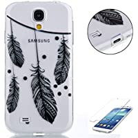 Samsung Galaxy S4 i9500 gel di Silicone Caso (con Gratuito