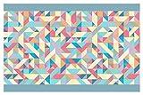 I-love-Wandtattoo Cenefa Autoadhesivo Formas de Colores Deco de la Pared Pegatinas de...
