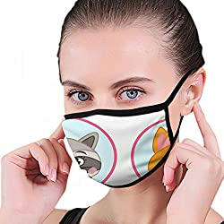 Matching Children Educational Game Match Parts Activity Education Anti Pollution Dust Mask Washable And Reusable Pm2.5 Face Mouth Mask Protection From Flu Germ Pollen Allergy Respirator Mask