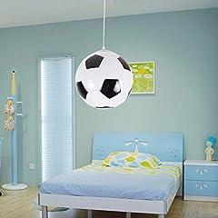 Idea Regalo - BOYX Bambini Creativi Calcio Soggiorno Sala Da Pranzo Lampadario Moderno Minimalista Lampadari In Camera
