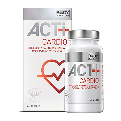 ACTI+ Cardio Multivitamin 60 Tabletten ideale Kombination Vitamine Mineralstoffe für Herz und Kreislauf