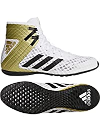buy popular 8b61a fb5f2 adidas Speedex 16.1 Unisex Boxing Shoes White Mens Junior Women Boxing Boots