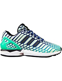 brand new 1fdb0 92d14 adidas ZX Flux J Big Kids Shoes Shock MintInkWhite aq8232 (7