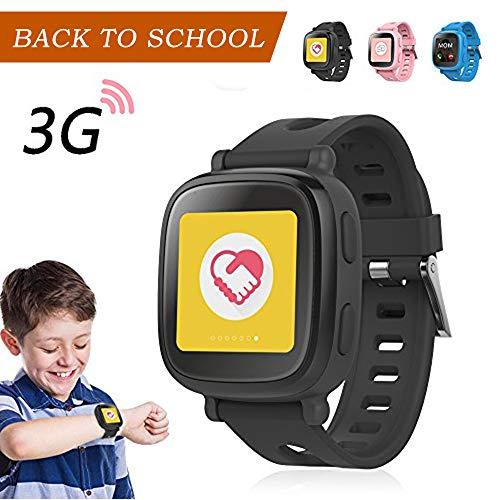 "Oaxis WatchPhone 1.54"" TFT GPS (satélite) Negro Reloj Inteligente - Relojes Inteligentes (3,91 cm (1.54""), TFT, Pantalla táctil, GPS (satélite), 53 g, Negro)"