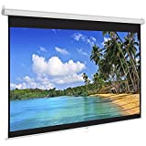 #6: Luzon Dzire Wall Type Projector Screen 6 x 4 feet In Imported Matte White Fabric (Aspect Ratio 4 : 3)