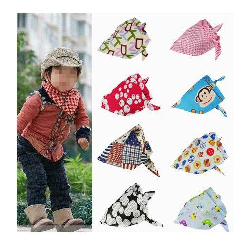 Dcolor Carina sciarpa scialle Triangolo del bambino