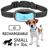 Barklo Mini Vibrationshalsband für kleine Hunde - wiederaufladbar und wasserdicht Kontrolle von...