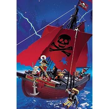 Playmobil 4424 pirates vaisseau des flibustiers jeux et jouets - Playmobil bateau corsaire ...