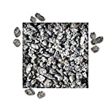 25 kg Granitsplitt Grau Gartensplitt Ziersplitt Deko Granit Dekoration Splitt Körnung 8/11 mm