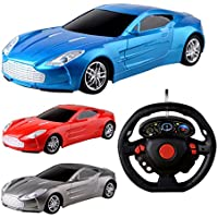 Amazemarket Random Mini Outdoor Playing 21cm Kids Baby Super Car Sportscar Model 1:18 Scale 4 Channels Full Function Radio Remote Control RC Boys Girls Toy Perfect Gift (random color) - Compare prices on radiocontrollers.eu