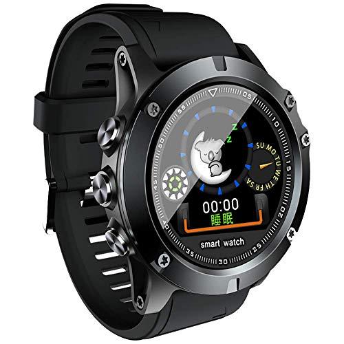 smart watch L11, Fitness-Uhr, Wasserdichte Ip68-Pulsuhr Kalorien- / SchrittzäHler, FüR Outdoor-Smart-Sportuhr Mit, FüR Android Und Ios
