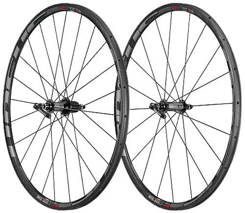 URSUS Wheels Miura T24Tubolare con Coppia di Ruote Shimano/SRAM Sticker, Dark Black