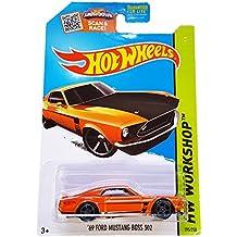 Hot Wheels Hw Workshop Orange '69 Ford Mustang Boss 302 - 2015 Speed Team 195/250