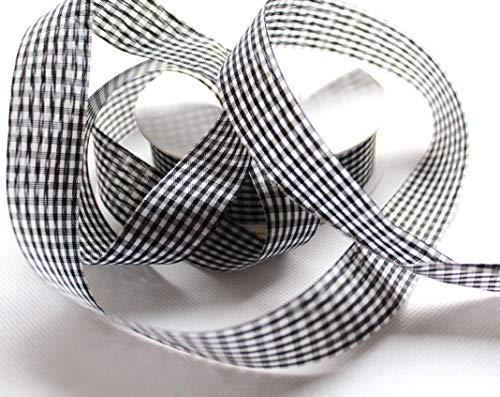 CaPiSo® Cuadros Banda 25m x 25mm Cinta Lazo Decorativa