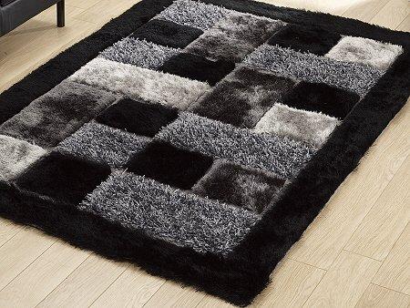 Global Home Brand New Hand Loom Modern Stone 5D Shaggy Rugs And...