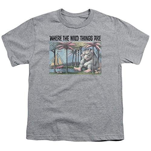 Where The Wild Things Are - Wo die Wilden Kerle wohnen - Jugend T-Shirt, X-Large, Athletic Heather