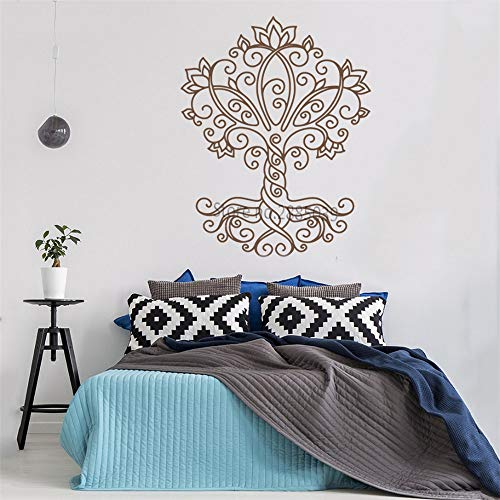 Ajcwhml Adesivo murale in Vinile Stile Semplice Vita Decalcomania Naturale murale Decorativo Staccabile Alta qualità Art Decal 42 Centimetri x 53 Centimet