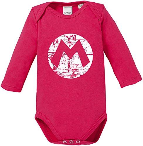 EZYshirt Mario Baby Body Longsleeve Bio -