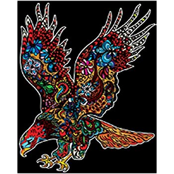 Colorvelvet L111 Disegno Aquila 47 X 35 Cm Amazon It Giochi E