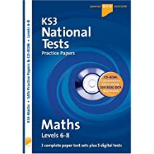 Letts Key Stage 3 Practice Test Papers - KS3 National Test Practice Papers Maths 6-8 QCA CD-Rom Test: Written by Mark Patmore, 1990 Edition, Publisher: Letts [Paperback]