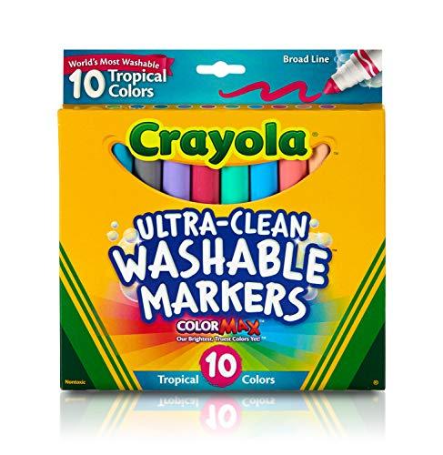 CRAYOLA Ultra-Clean Color Max Broad Line Washable