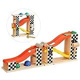 Yyz Giocattolo per Bambini Due in Uno Pista di Legno Scivolo Palla Scorrevole diapositiva Kit di Sviluppo Giocattolo Modello Regalo di Compleanno