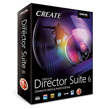 Cyberlink Director Suite 6 - Complete Video & Photo Editing (PC)
