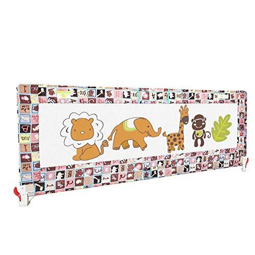 gitter Bettschutzgitter-Sicherheitsgeländer für Kleinkinder Kinder Robust und solide für Kinderbetten, Doppelbetten, Kingsize- / Queensize Betten (Size : 120cm) ()