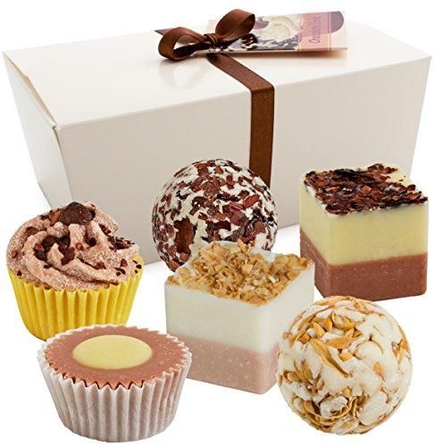 Brubaker cosmetics-piccole bombe da bagnoa forma di cioccolatini -6pezzi-vegan