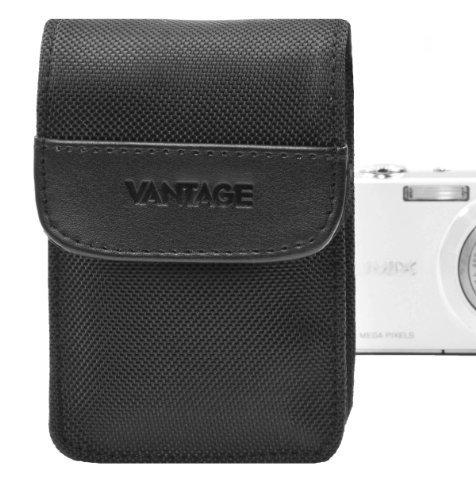 Vantage DCN 1 Digital Kamera Nylon Etui mit Speicherkartenfach (90 x 60 x 20 mm) schwarz