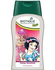 Biotique Bio Disney Princess Nourishing Lotion, Honey Sunshine (200 ml)