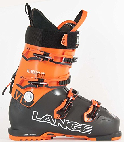 Lange XC 100 Skischuhe (Black/Orange), MP 30.5 (Stiefel Alpina Xc)