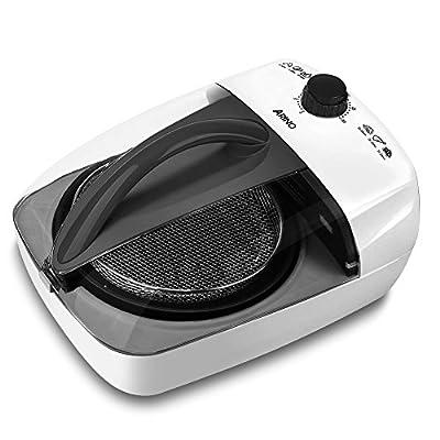 ARINO Friteuse Sans Huile Air Fryer Friteuse à Air Chaud Non-Huile Fatless Air Friteuse Fryer- 3L - Noir
