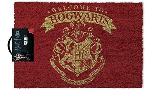 """Pyramid International - Felpudo """"Welcome To Hogwarts"""" De Harry Potter"""